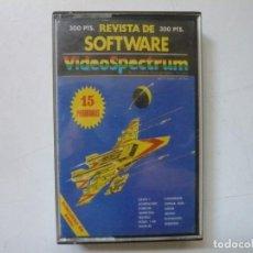 Videojuegos y Consolas: VIDEOSPECTRUM Nº 6 / SPECTRUM / SINCLAIR ZX SPECTRUM / RETRO VINTAGE / CASSETTE. Lote 288974508