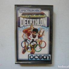 Videojuegos y Consolas: DALEY THOMPSON'S DECATHLON / SPECTRUM / SINCLAIR ZX SPECTRUM / RETRO VINTAGE / CASSETTE. Lote 288976888