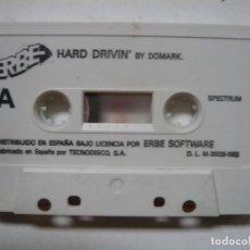Videojuegos y Consolas: HARD DRIVIN - SOLO CINTA / SPECTRUM / SINCLAIR ZX SPECTRUM / RETRO VINTAGE / CASSETTE. Lote 288985853