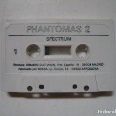 Videojuegos y Consolas: PHANTOMAS 2 DE DINAMIC - SOLO CINTA / SPECTRUM / SINCLAIR ZX SPECTRUM / RETRO VINTAGE / CASSETTE. Lote 288986113