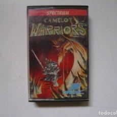 Videojuegos y Consolas: CAMELOT WARRIORS / SPECTRUM / SINCLAIR ZX SPECTRUM / RETRO VINTAGE / CASSETTE. Lote 288988138