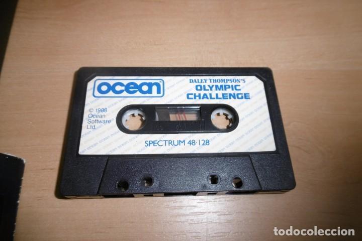 Videojuegos y Consolas: Spectrum Caja Grande Daley Thompson´s Olympic Challenge. OCEAN - Foto 2 - 289715813