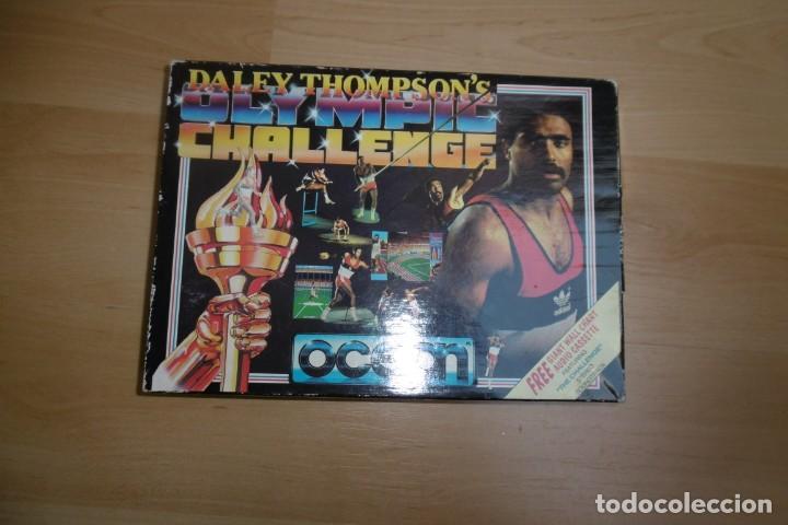 Videojuegos y Consolas: Spectrum Caja Grande Daley Thompson´s Olympic Challenge. OCEAN - Foto 3 - 289715813