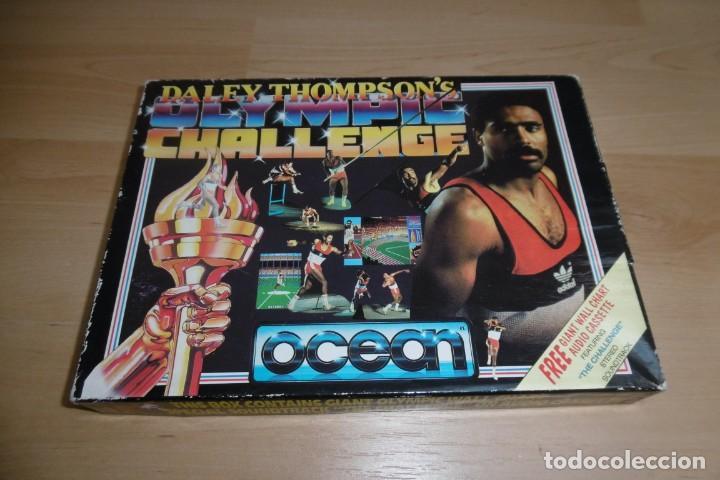 Videojuegos y Consolas: Spectrum Caja Grande Daley Thompson´s Olympic Challenge. OCEAN - Foto 4 - 289715813