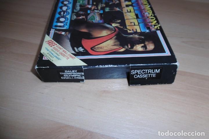 Videojuegos y Consolas: Spectrum Caja Grande Daley Thompson´s Olympic Challenge. OCEAN - Foto 5 - 289715813