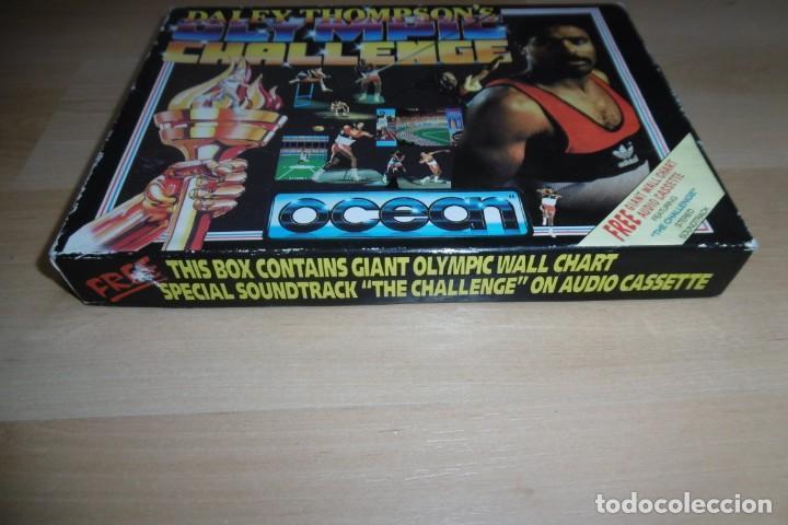 Videojuegos y Consolas: Spectrum Caja Grande Daley Thompson´s Olympic Challenge. OCEAN - Foto 6 - 289715813