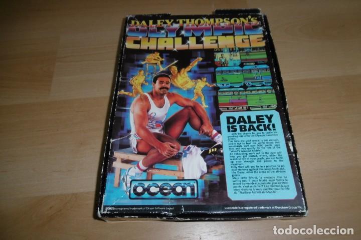 Videojuegos y Consolas: Spectrum Caja Grande Daley Thompson´s Olympic Challenge. OCEAN - Foto 8 - 289715813