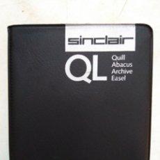 Videojuegos y Consolas: ESTUCHE SINCLAIR QL, CONTIENE QUILL, ABACUS, ARCHIVE, EASEL. Lote 290141593