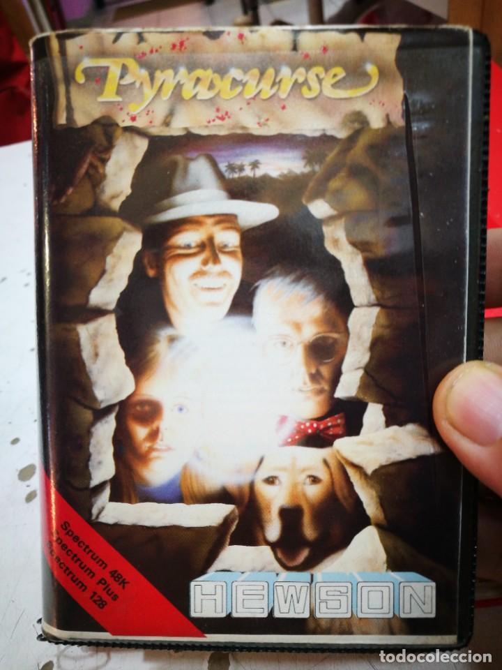 SPECTRUM PYRACURSE FROM HENSON 1986 BUEN ESTADO PAPEL Y CARÁTULA COMO SE VE EN LAS FOTOS (Juguetes - Videojuegos y Consolas - Spectrum)