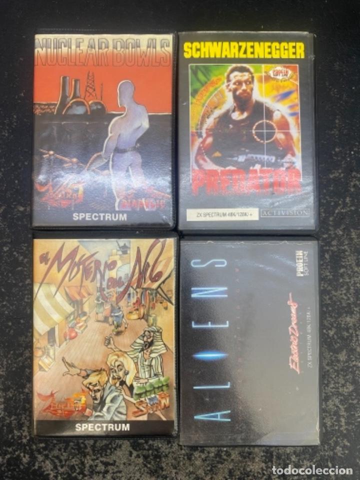 LOTE DE 4 JUEGOS SPECTRUM (Juguetes - Videojuegos y Consolas - Spectrum)