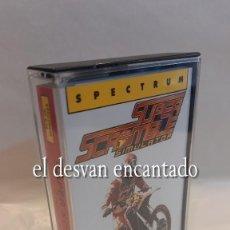 Videojogos e Consolas: SUPER SCRAMBLE SIMULATOR. ANTIGUO JUEGO CASETE SPECTRUM. COMO NUEVO. Lote 293621463
