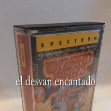 Videojogos e Consolas: WIZARD WARZ. ANTIGUO JUEGO CASETE SPECTRUM. COMO NUEVO. Lote 293623548