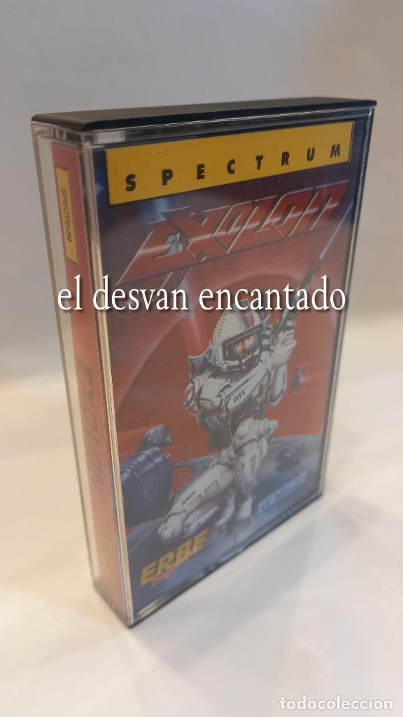 EXOLON. ANTIGUO JUEGO CASETE SPECTRUM. COMO NUEVO (Juguetes - Videojuegos y Consolas - Spectrum)