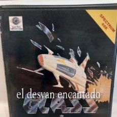 Videojuegos y Consolas: GLASS DE QUICK SILVA. ANTIGUO JUEGO SPECTRUM. Lote 293654383