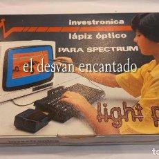 Videojuegos y Consolas: LIGHT PEN. LÁPIZ ÓPTICO PARA SPECTRUM. INVESTRONICA. AÑOS 80S. A ESTRENAR. Lote 293759798