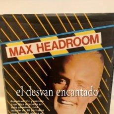 Videojuegos y Consolas: MAX HEADROOM. ESTUCHE MIND GAMES ESPAÑA QUICKSILVA 1986 RARO. Lote 293760468