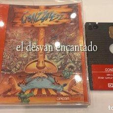 Videojuegos y Consolas: GONZZALEZZ. JUEGO SPECTRUM. COMPLETO EN MUY BUEN ESTADO. Lote 293761603