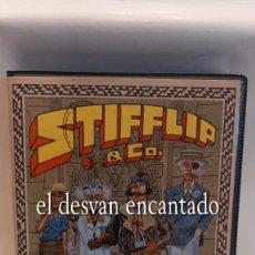 Videojuegos y Consolas: STIFFLIP & CO. JUEGO SPECTRUM. COMPLETO EN MUY BUEN ESTADO. Lote 293761873