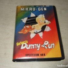 Videogiochi e Consoli: JUEGO HERBERTS DUMMY RUN - SPECTRUM - VERSION ESTUCHE. Lote 293838193