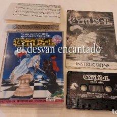 Videojuegos y Consolas: CYRUS. ANTIGUO JUEGO SPECTRUM.. Lote 293882888