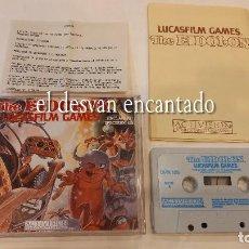 Videojuegos y Consolas: THE EIDOLON LUCASFILM GAMES. ANTIGUO JUEGO SPECTRUM.. Lote 293883353