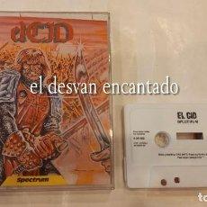 Videojuegos y Consolas: EL CID. ANTIGUO JUEGO SPECTRUM.. Lote 293883553