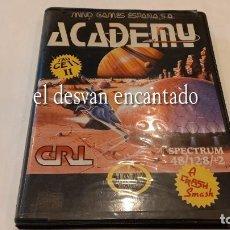 Videojuegos y Consolas: ACADEMY. ANTIGUO JUEGO SPECTRUM.. Lote 293885198