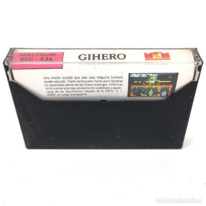 Videojuegos y Consolas: GI * HERO Precintado. MCM FIREBIRD BLITTER ANIMATIONS 1989 GIHERO G.I.Joe SINCLAIR SPECTRUM CASSETTE - Foto 2 - 230461225