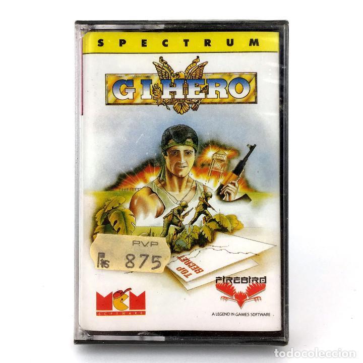 GI * HERO PRECINTADO. MCM FIREBIRD BLITTER ANIMATIONS 1989 GIHERO G.I.JOE SINCLAIR SPECTRUM CASSETTE (Juguetes - Videojuegos y Consolas - Spectrum)