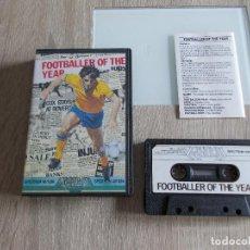 Videojuegos y Consolas: JUEGO SPECTRUM. FOOTBALLER OF THE YEAR. GREMLIN. Lote 294168683