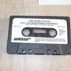Videojuegos y Consolas: JUEGO SPECTRUM. GFL CHAMPIONSHIP FOOTBALL. GAMESTAR / ACTIVISION.. Lote 294173133