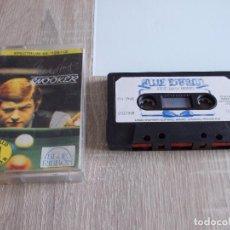 Videojuegos y Consolas: JUEGO SPECTRUM. STEVE DAVIS SNOOKER. BLUE RIBBON. Lote 294371343