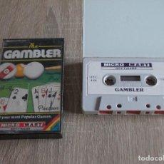 Videojuegos y Consolas: JUEGOS SPECTRUM. THE GAMBLER. MICRO MART.. Lote 294371648