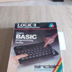 Videojuegos y Consolas: PROGRAMAS Y JUEGOS SPECTRUM. LEARN BASIC PROGAMMING ON THE SINCLAIR SPECTRUM. LOGIC 3. Lote 294374438