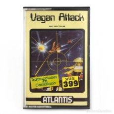 Videojuegos y Consolas: VAGAN ATTACK ZAFIRO ESPAÑA / ATLANTIS SOFTWARE 1987 RETRO WAR GAME SINCLAIR ZX SPECTRUM CASSETTE 48K. Lote 294976278