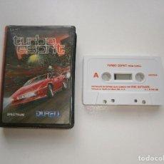 Videojuegos y Consolas: JUEGO DE SPECTRUM - TURBO ESPRIT - ESTUCHE - ERBE. Lote 295342188
