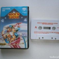 Videojuegos y Consolas: JUEGO DE SPECTRUM - ROCK'N'LUCHA - ESTUCHE - ERBE. Lote 295342483