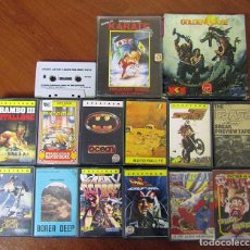 Videojuegos y Consolas: SPECTRUM, LOTE DE VIDEOJUEGOS - CASSETTE JUEGOS. Lote 295480918