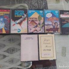 Videojuegos y Consolas: VIDEOJUEGOS SPECTRUM (SINCLAIR) CINTA CASSETTE, AÑOS 80. NO AMSTRAD, COMMODORE, MSX. Lote 296823238