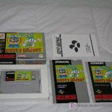 Videojuegos y Consolas: TINY TOON COMPLETO SUPER NINTENDO PAL ESPAÑA. Lote 24583502