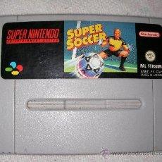 Videojuegos y Consolas: SUPER NINTENDO SUPER SOCCER. Lote 21804764