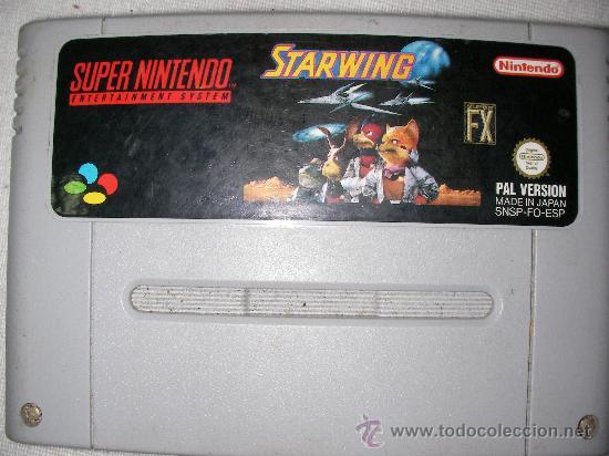 SUPER NINTENDO STARWING (Juguetes - Videojuegos y Consolas - Nintendo - SuperNintendo)