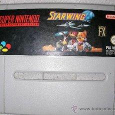 Videojuegos y Consolas: SUPER NINTENDO STARWING. Lote 38604328