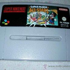 Videojuegos y Consolas: JUEGO SUPERNINTENDO SUPER MARIO ALL STARS. Lote 23540122