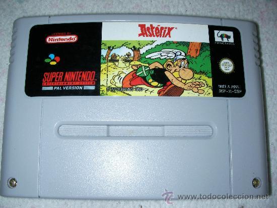 JUEGO SUPERNINTENDO ASTERIX (Juguetes - Videojuegos y Consolas - Nintendo - SuperNintendo)