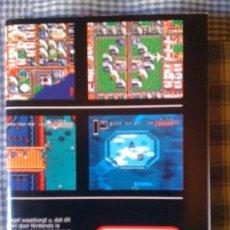 Videojuegos y Consolas: POSTER ORIGINAL NUEVO CATÁLOGO DE JUEGOS DE SUPER NINTENDO SNES. Lote 24884850