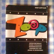 Videojuegos y Consolas: ZOOP MANUAL DE INSTRUCCIONES LIBRO DE USUARIO PARA SUPER NINTENDO SNES PAL VERSIÓN ESPAÑOLA. Lote 24884851