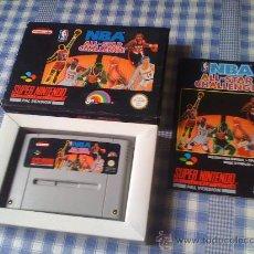 Videojuegos y Consolas: NBA ALL-STAR CHALLENGE PARA SUPER NINTENDO SNES NES PAL COMPLETO - HAZ TU OFERTA!. Lote 27694228