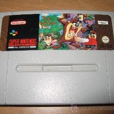 Jeux Vidéo et Consoles: TAZMANIA TAZ MANIA SUPER NINTENDO PAL ESPAÑA. Lote 28093291