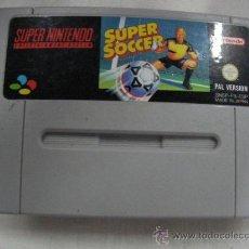 Videojuegos y Consolas: SUPER SOCCER. Lote 28184381